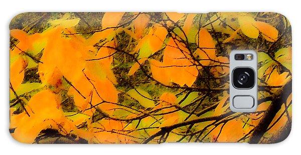 Ore Leaves Galaxy Case by Kristen R Kennedy