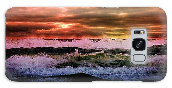 Ocean Storm Galaxy Case by Aaron Berg