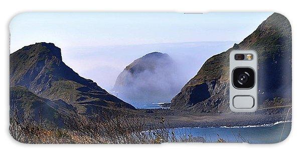Oregon Coast In Fog Galaxy Case
