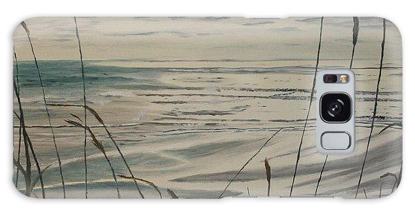 Oregon Coast With Sea Grass Galaxy Case by Ian Donley