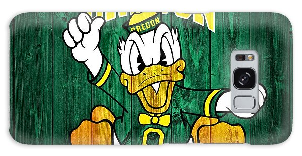 Oregon Ducks Barn Door Galaxy Case