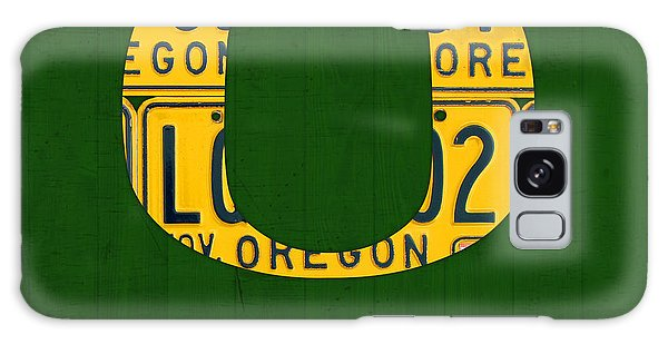 Recycle Galaxy Case - Oregon Ducks Vintage Recycled License Plate Art by Design Turnpike