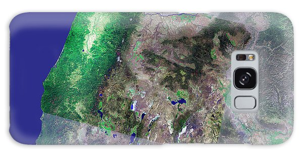 Usa Map Galaxy Case - Oregon by Mda Information Systems/science Photo Library