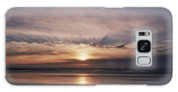 Oregon Sunset Galaxy Case