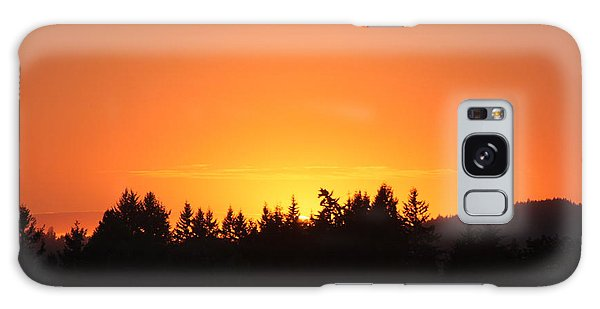 Oregon Sunset Galaxy Case