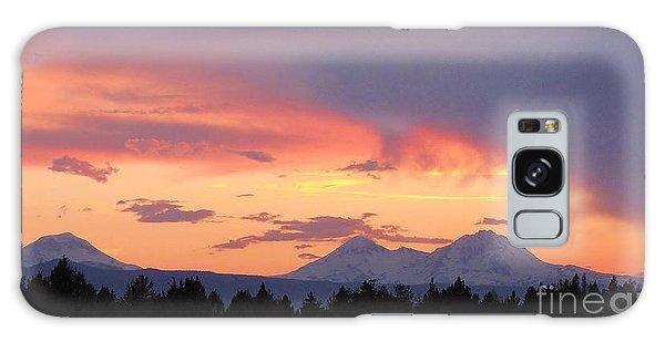 Oregon's Three Sisters  Galaxy Case