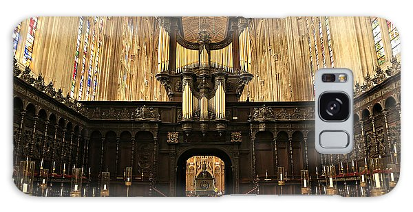 Organ And Choir - King's College Chapel Galaxy Case