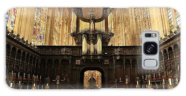 Organ And Choir - King's College Chapel Galaxy Case