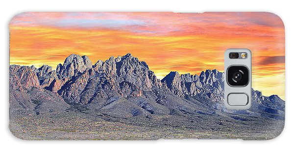 Southwest Usa Galaxy Case - Organ Mountain Sunrise  by Jack Pumphrey
