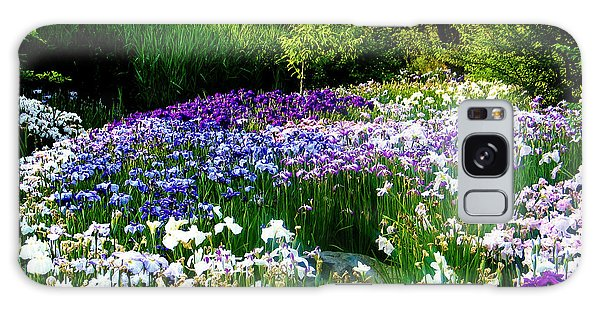 Oriental Ensata Iris Garden Galaxy Case