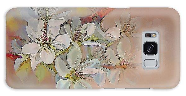 Oriental Pear Blossom Branch Galaxy Case