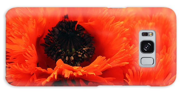 Oriental Poppy Galaxy Case by Gerry Bates