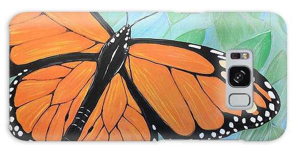 Original Abstract Painting Butterfly Print ... Monarch Galaxy Case