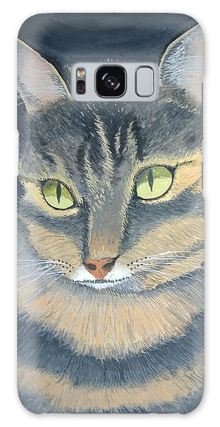Original Cat Painting Galaxy Case by Norm Starks