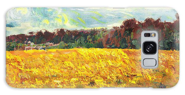 Original Fine Art Digital Autumn Fields Maryland Galaxy Case