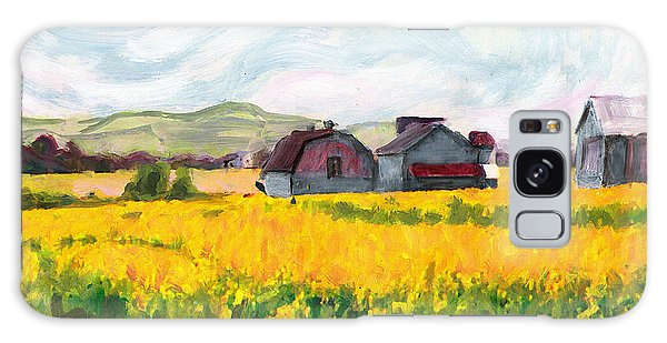Original Fine Art Digital Springtime Fields Farm Maryland Galaxy Case