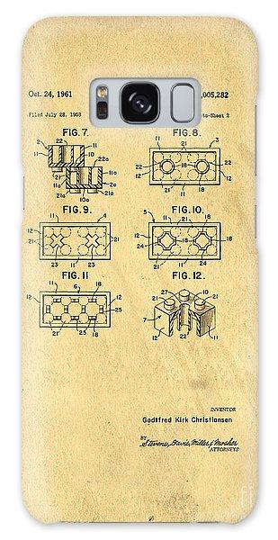 Bricks Galaxy Case - Original Patent For Lego Toy Building Brick by Edward Fielding