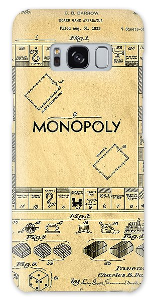 Success Galaxy Case - Original Patent For Monopoly Board Game by Edward Fielding