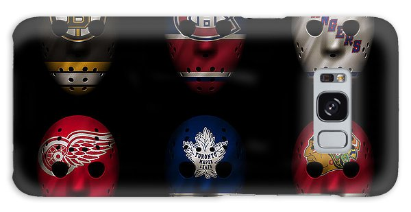New Leaf Galaxy Case - Original Six Jersey Mask by Joe Hamilton
