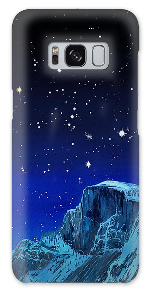 Orion Over Halfdome Galaxy Case