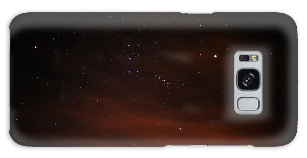 Orion With His Feet In The Clouds Galaxy Case by Richard Stephen
