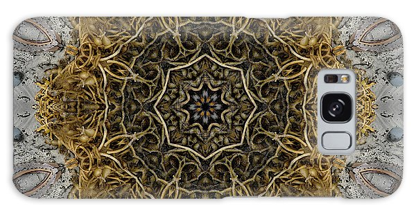Ornate Inlay Dance Floor Galaxy Case by Rhonda Strickland