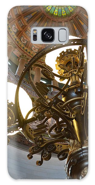 Ornate Lighting - Sprngfield Illinois Capitol Galaxy Case