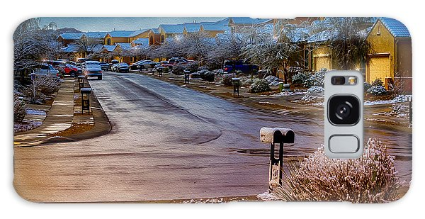 Oro Valley Winter No.54 Galaxy Case