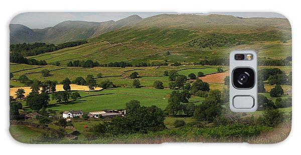 Orrest Head Cumbria England Galaxy Case by Graham Hawcroft pixsellpix