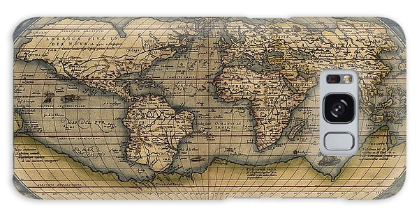 Ortelius Old World Map Galaxy Case by Joseph Hawkins