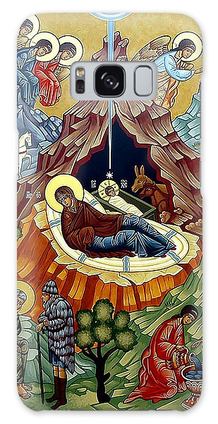 Orthodox Nativity Of Christ Galaxy Case