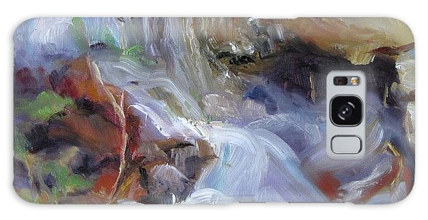 Osage Creek Waterfall Galaxy Case