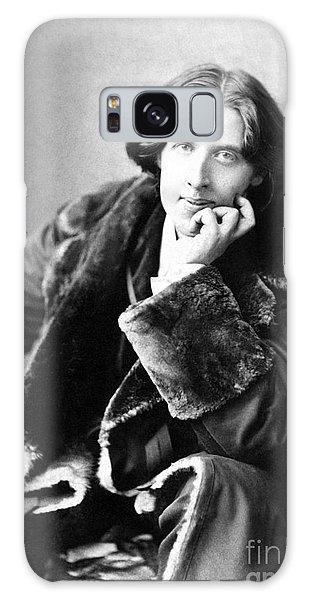 Oscar Wilde In His Favourite Coat 1882 Galaxy Case