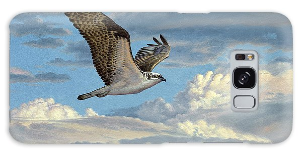 Hawk Galaxy Case - Osprey In The Clouds by Paul Krapf