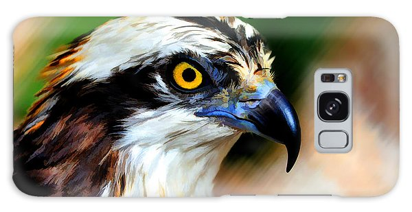 Galaxy Case featuring the photograph Osprey Portrait by Dan Friend