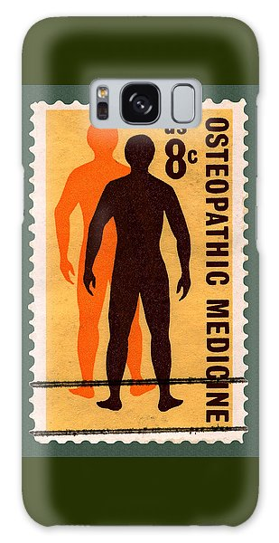 Osteopathic Medicine Stamp Galaxy Case