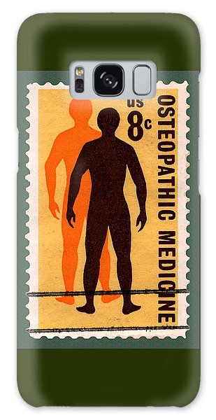 Osteopathic Medicine Stamp Galaxy Case
