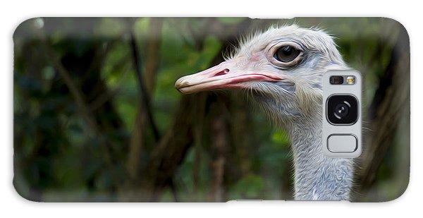 Ostrich Head Galaxy Case by Aged Pixel