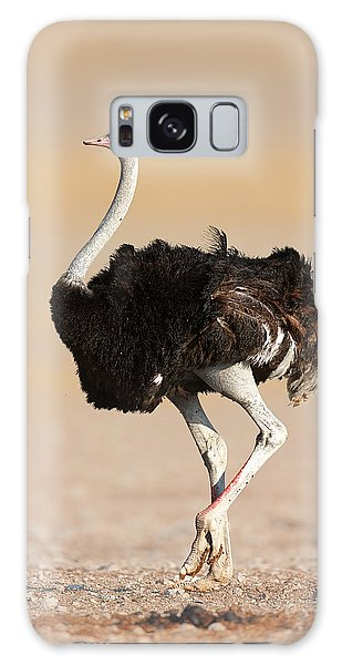 Ostrich Galaxy Case by Johan Swanepoel