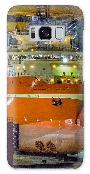 Osv In Port Fourchon Drydock Galaxy Case