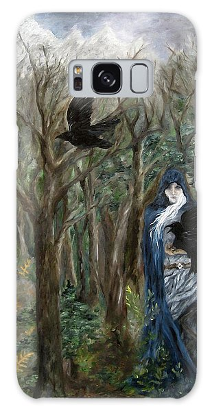 The Raven God Galaxy Case