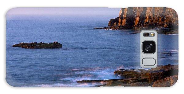 Otter Rock Galaxy Case - Otter Cliffs Dawn #2 by Stuart Litoff