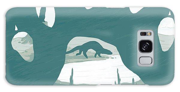 Otter Galaxy Case - Otter Paw by Daniel Hapi