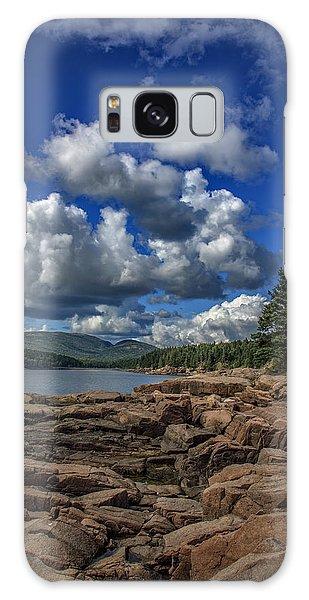 Otter Rock Galaxy Case - Otter Point Afternoon by Rick Berk