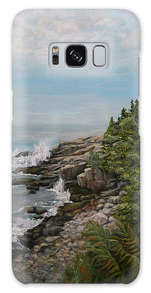 Otter Point - New England Galaxy Case by Sandra Nardone