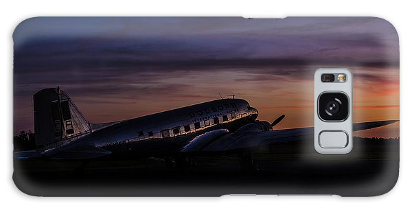 Our Heritage At Sunrise Galaxy Case by Amber Kresge