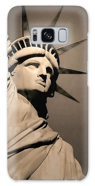 Our Lady Liberty Galaxy Case