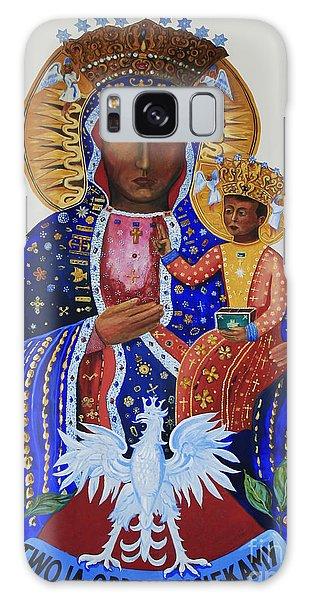 Our Lady Of Czestochowa Galaxy Case