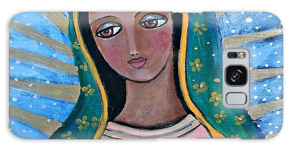 Our Lady Of Guadalupe Folk Art Galaxy Case