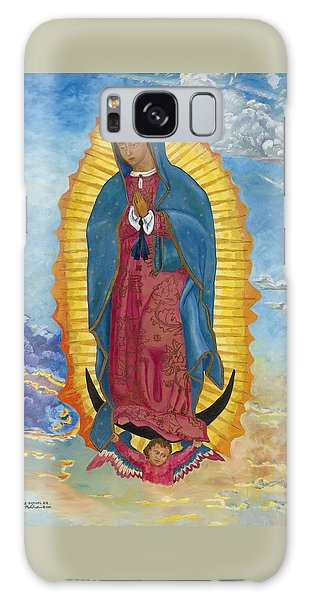 Our Lady Of Guadalupe-new Dawn Galaxy Case
